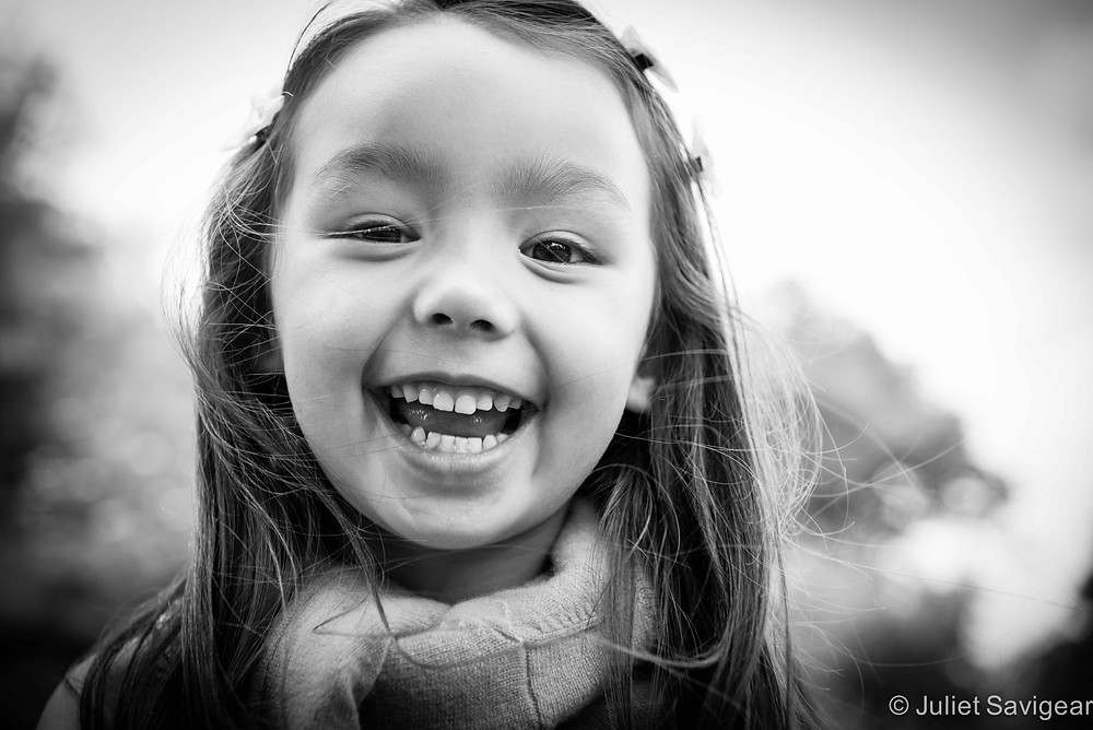 Happy Girl - Children's Photography, Wimbledon
