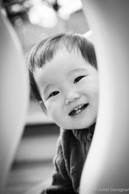 Peek-A-Boo - Children's Photography, St Johns Wood