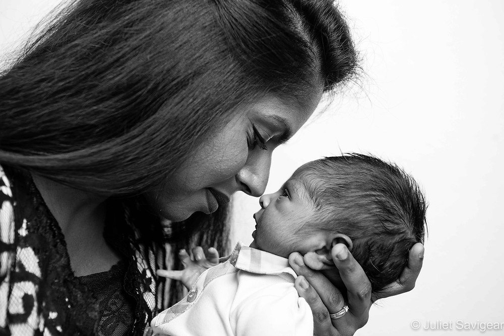 Mother & Baby - Newborn Baby Photography, Ilford, Essex