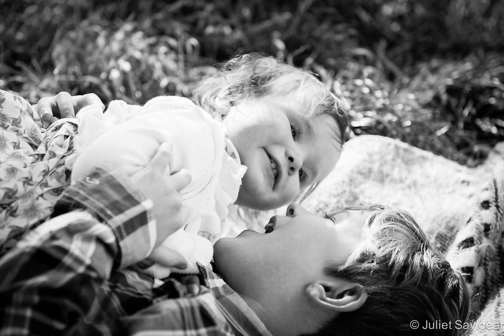 Rolling Around - Children's Portrait Photography, Clapham