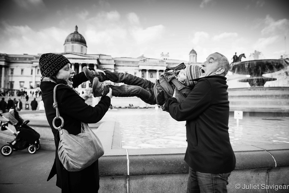 In he goes! - Family Photographer, London