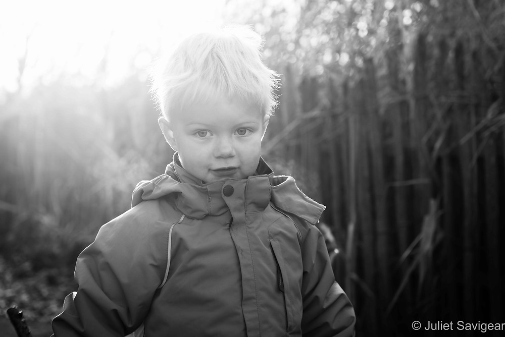 In The Sunlight - Children's Photography, Clapham Common
