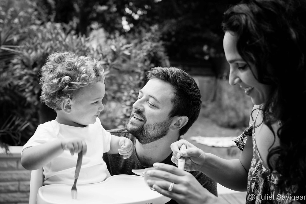 Lunch - Family Photography, Maida Vale