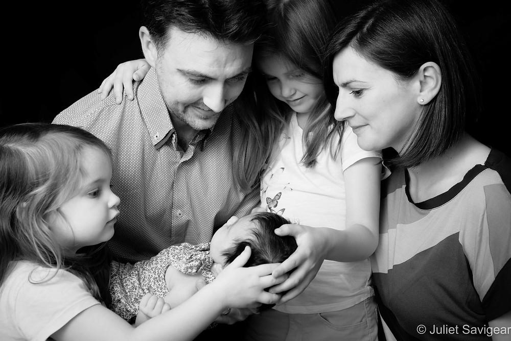 Newborn Baby & Family