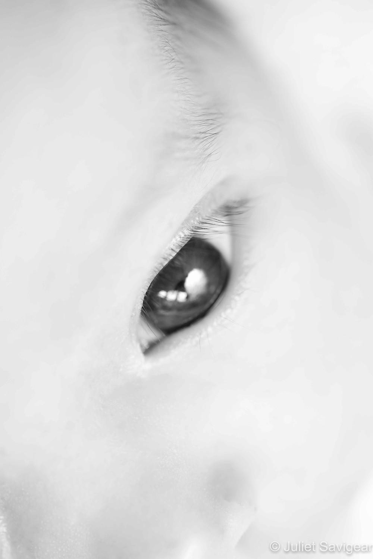 Close Up On Eye - Newborn Baby Photography, Balham