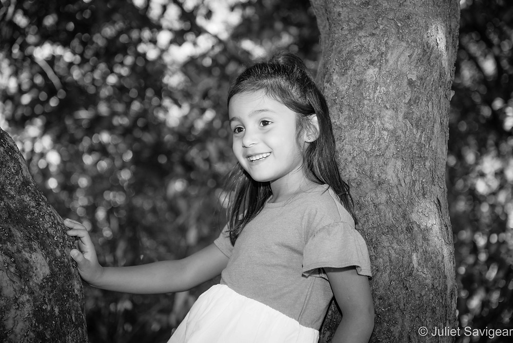 Natural outdoor children's photography