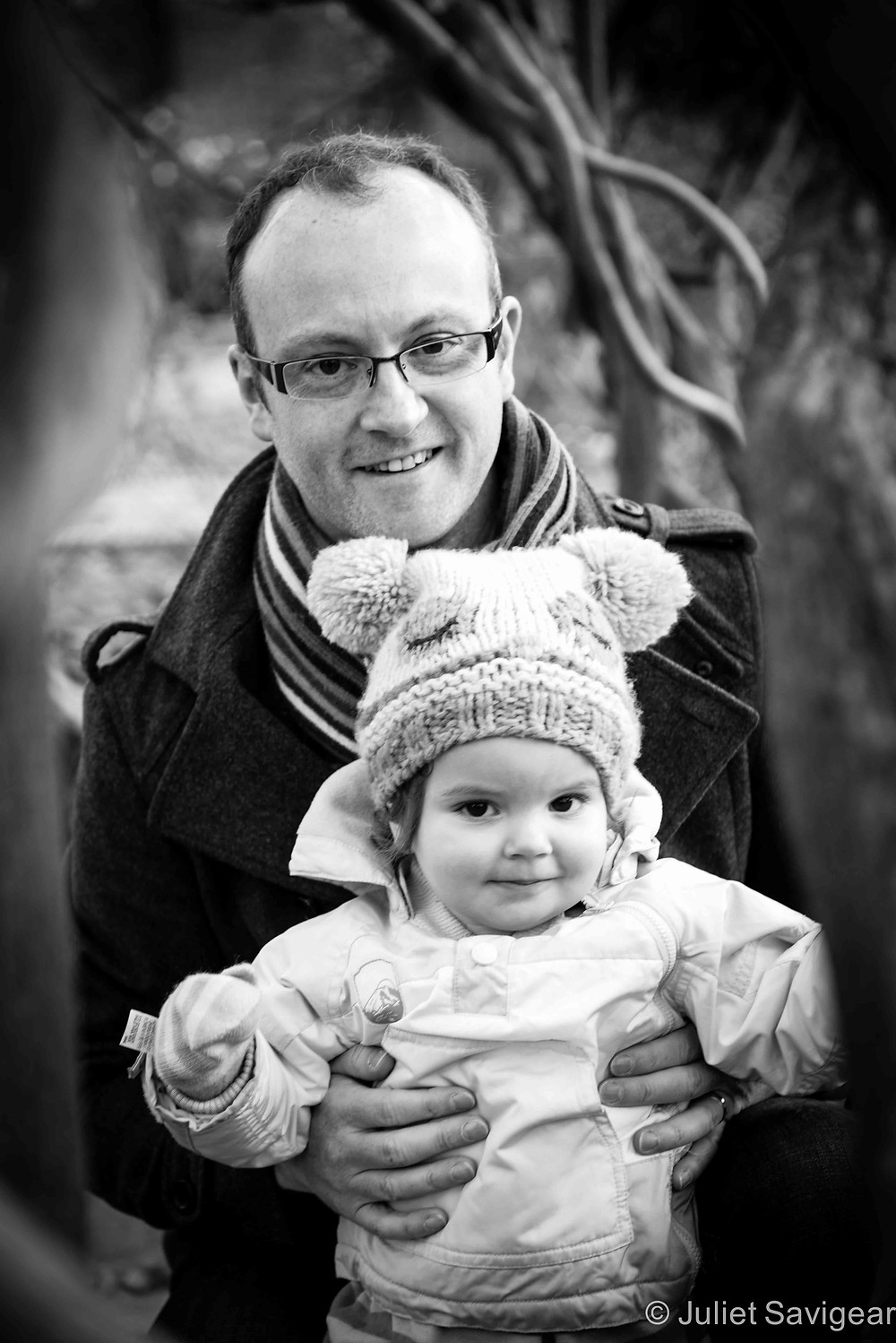 Through The Branches - Family Photography, Brockwell Park