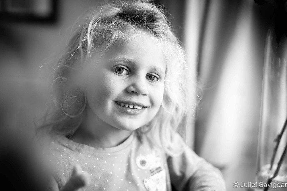 Portrait Of A Girl - Children's Photography, Surrey