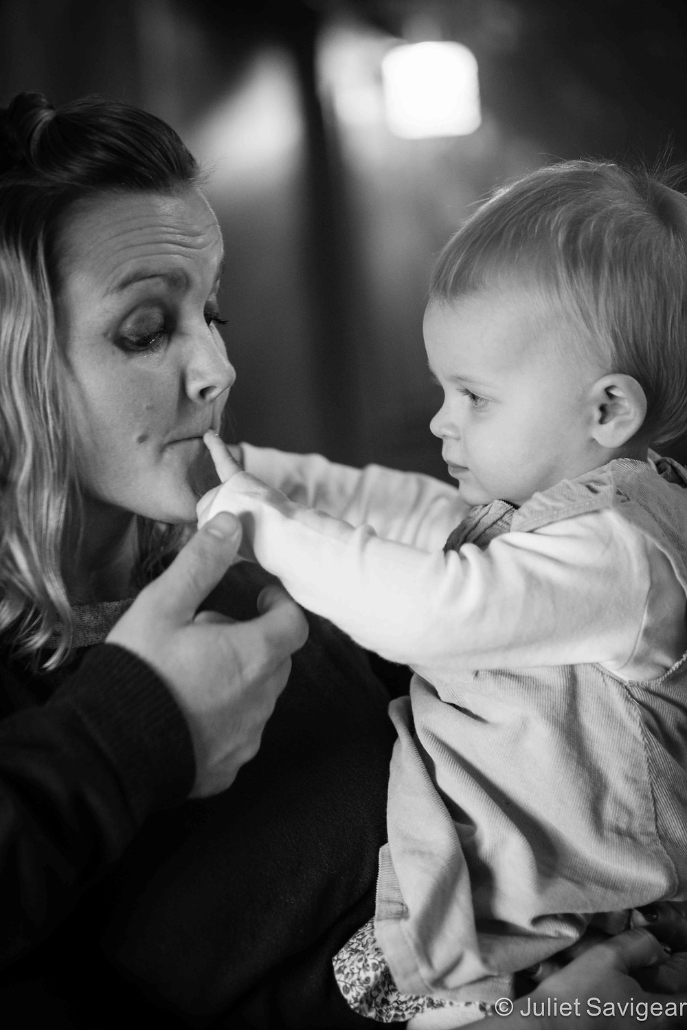 Lips - Family Photography, Balham