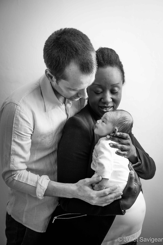 Family Portrait - Newborn Baby Photography, Greenwich