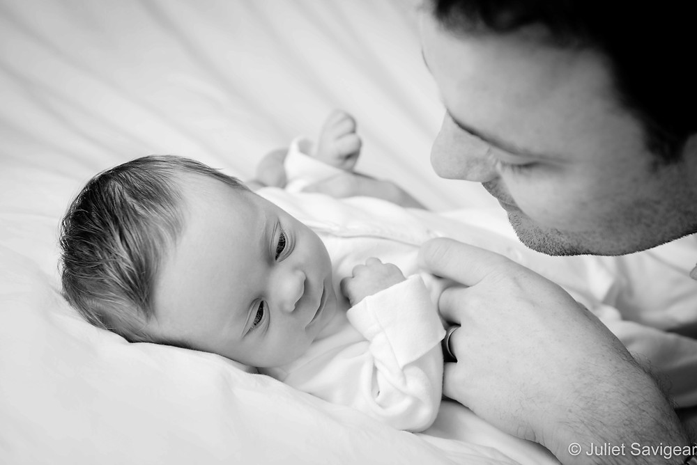 Father & baby girl