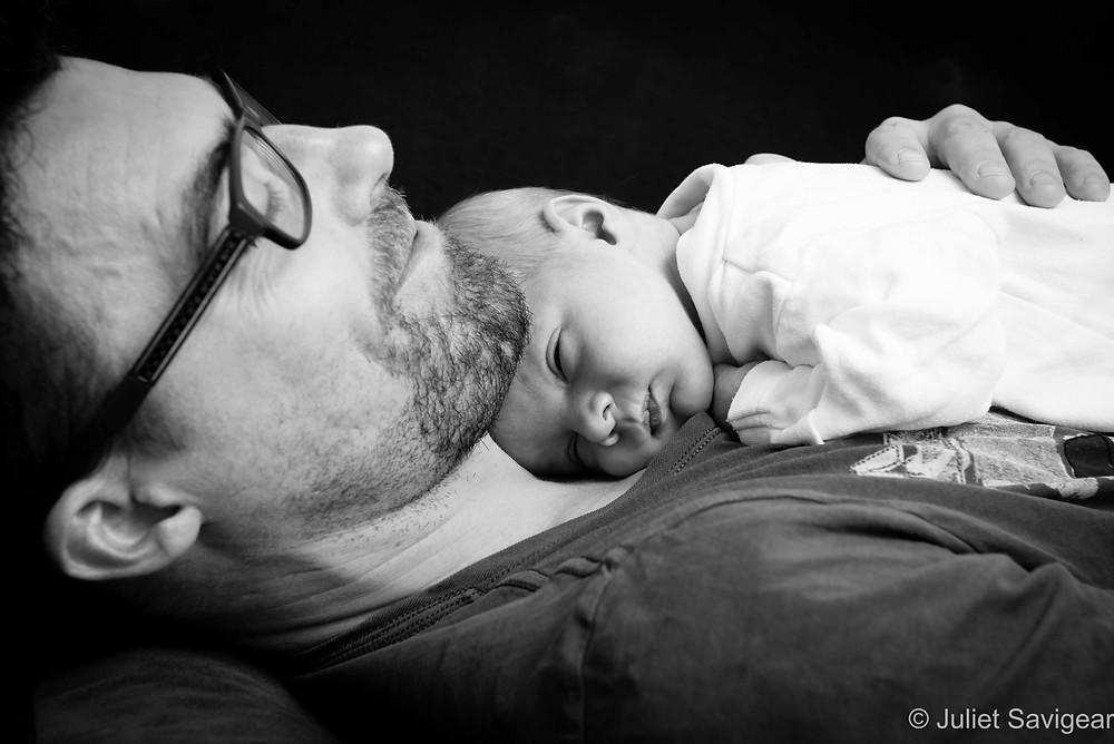 Father & Son - Baby Photography - Thornton Heath