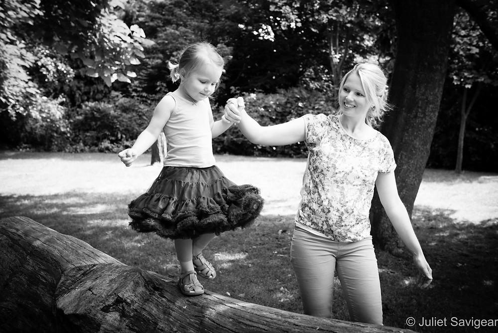 Balancing - Family Photography, Peckham Rye Park