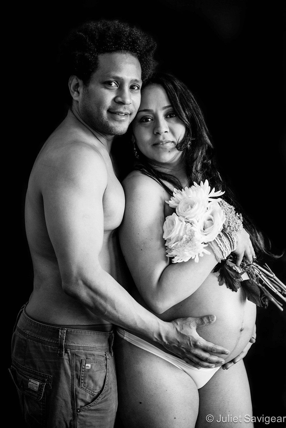 Parents-to-be - Maternity Photography, Stratford