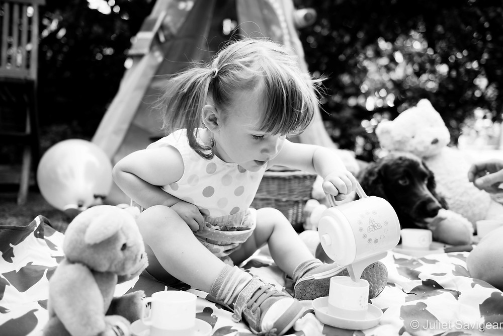 Tea! Children's Photography, Putney