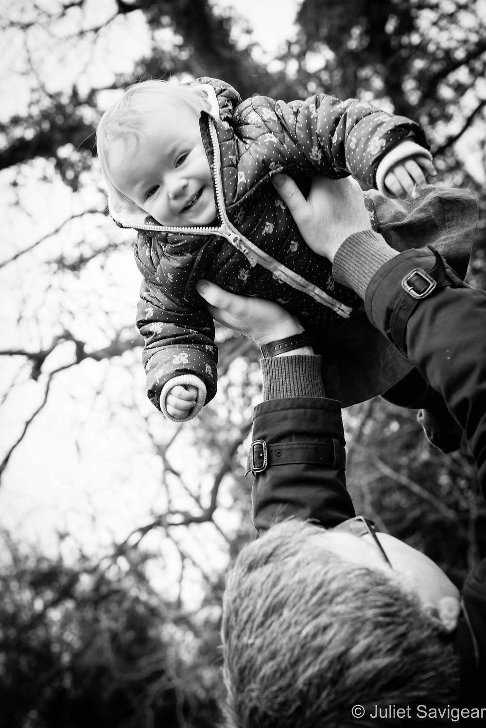 Flying High - Baby Photography, Belsize Park