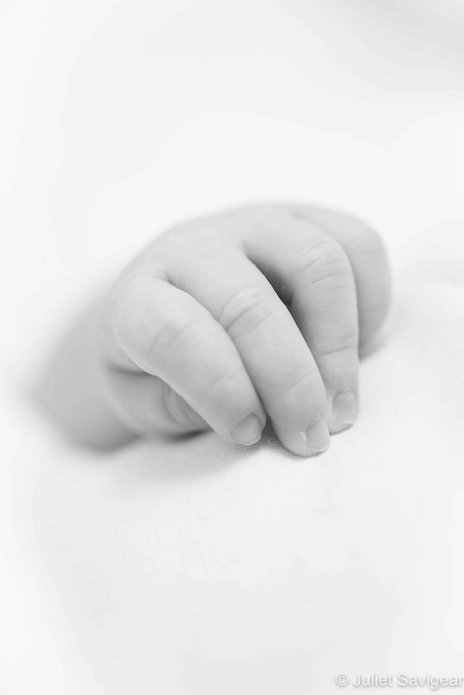 Baby Hand - Baby Photographer, Leyton