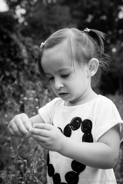 Flower Girl - Children's Photography, London
