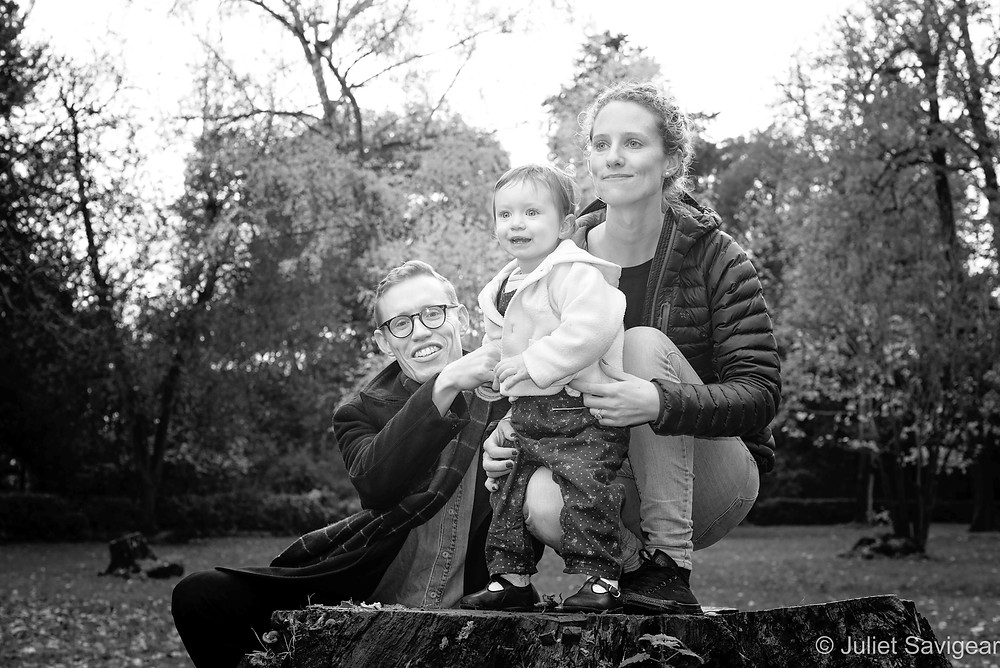 Family photography in the park