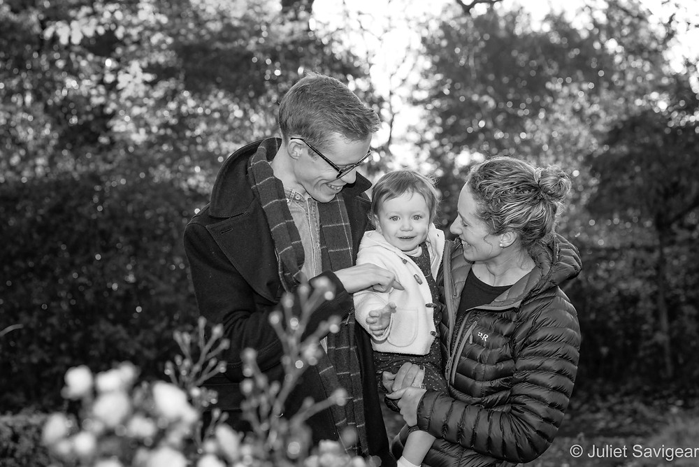 Natural, outdoor family photography