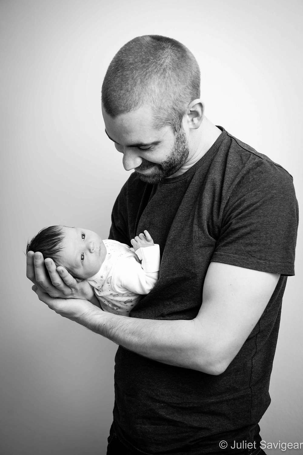 Father & Son - Newborn Baby & Family Photography, Battersea