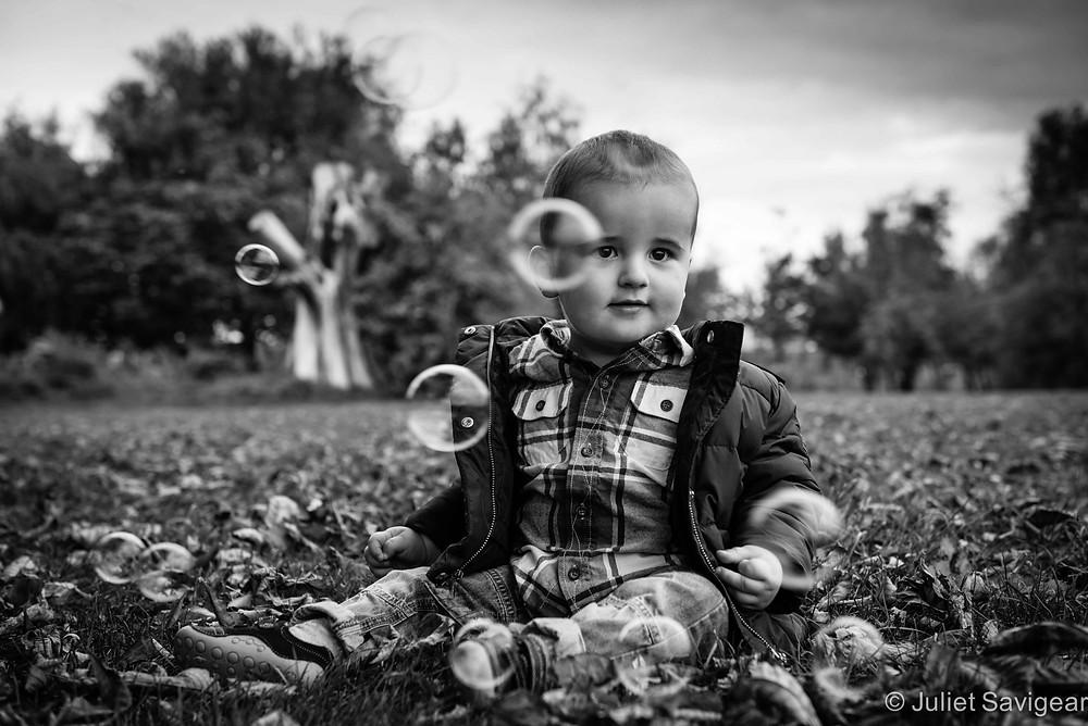 Bubbles - Baby Photography, Tottenham