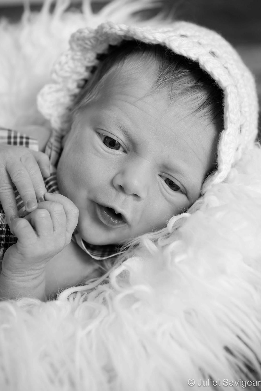 Baby Girl In Hat - Newborn Baby Photography, Earlsfield
