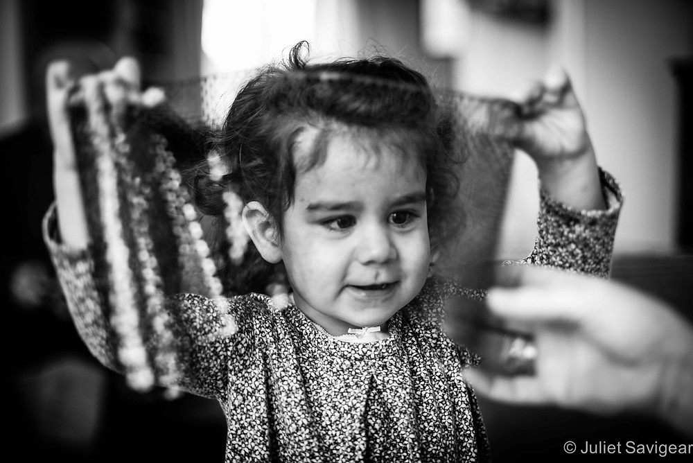 Looking Through The Mesh - Children's Photography, Clapham