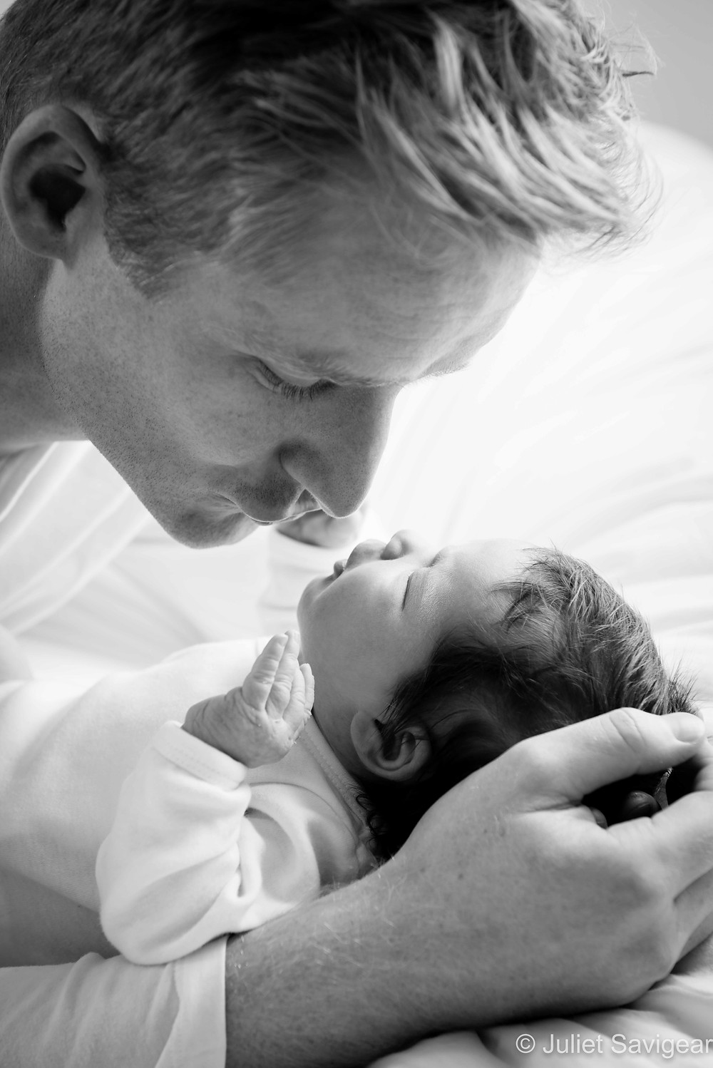With Daddy - Newborn Baby Photography, Dulwich