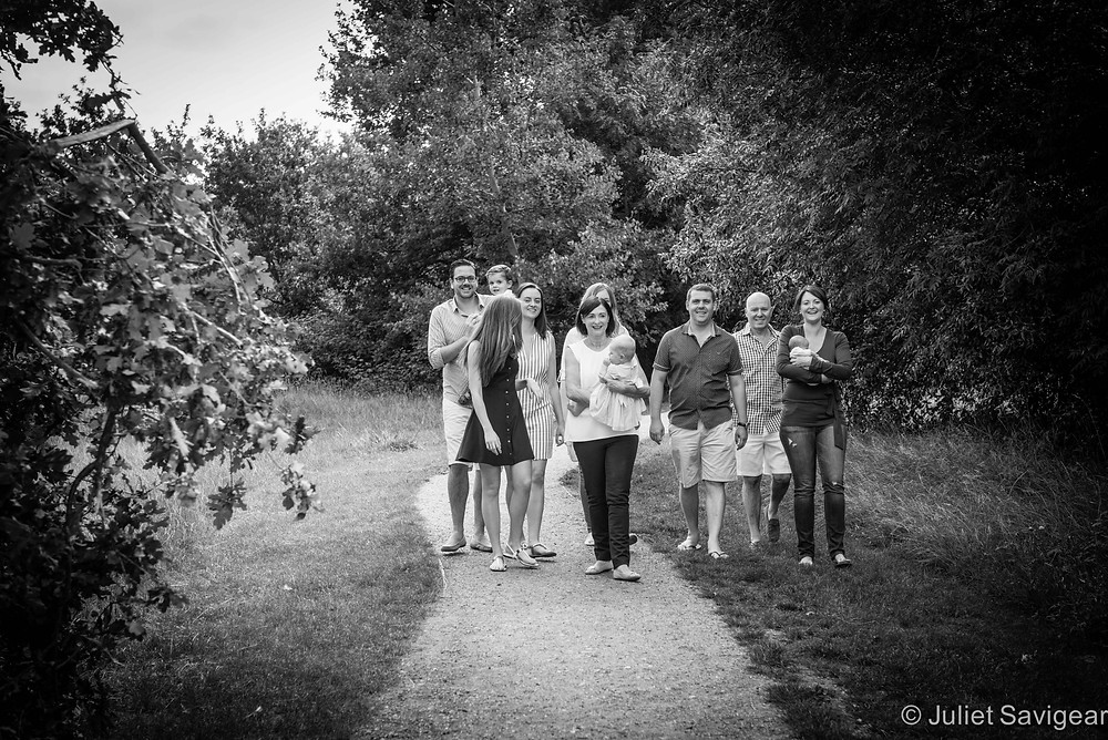 Extended Family Photography - Family Photography, Tooting Common