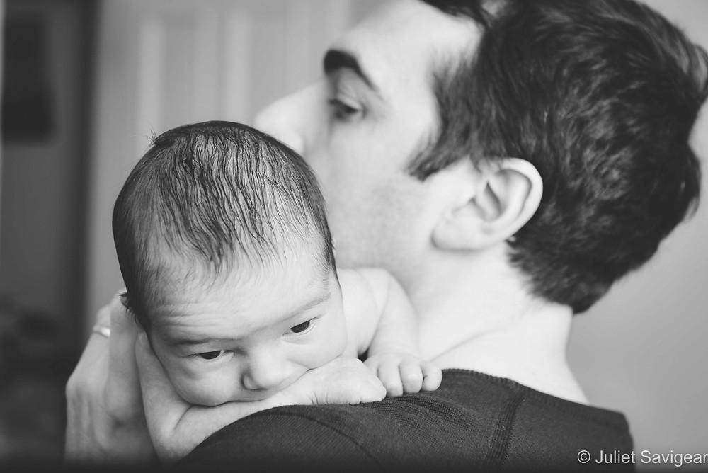 Over Daddy's Shoulder