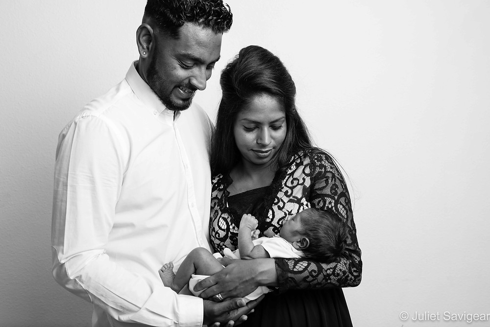 Family Portrait - Newborn Baby Photography, Ilford, Essex