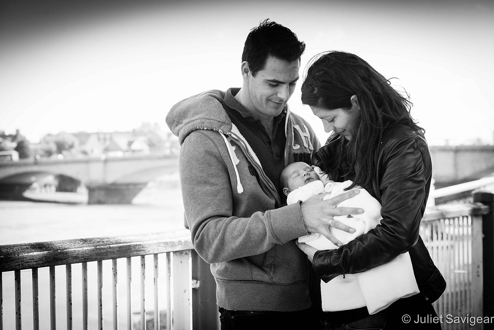 Down By The River - Newborn Baby & Family Photography, Putney