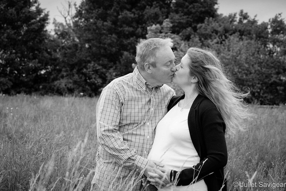 Kiss - Maternity Photography, Essex