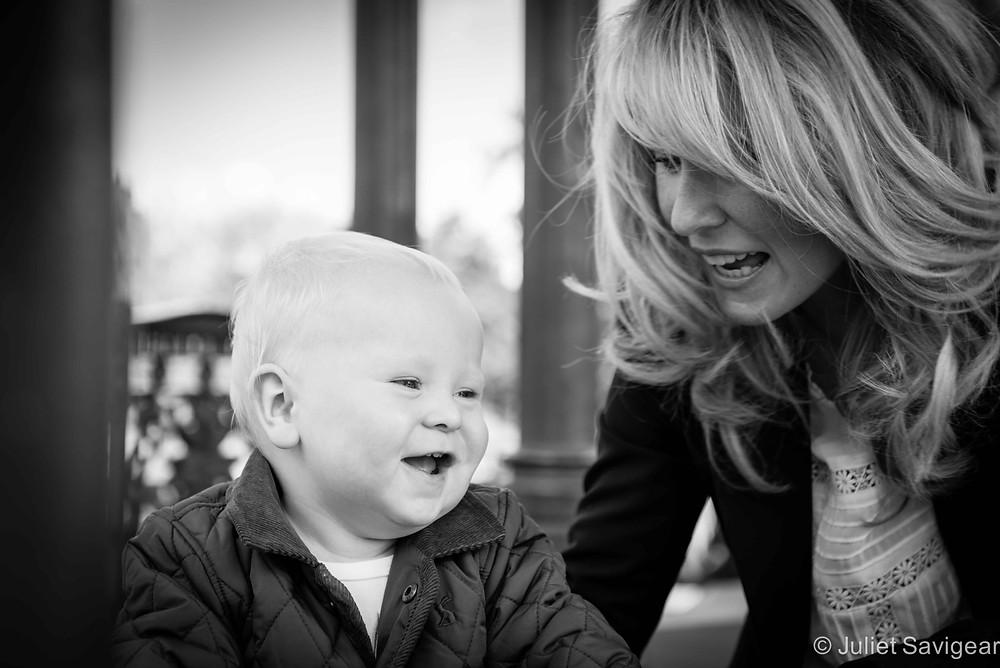 Fun With Mummy - First Birthday Photo shoot - Clapham Common
