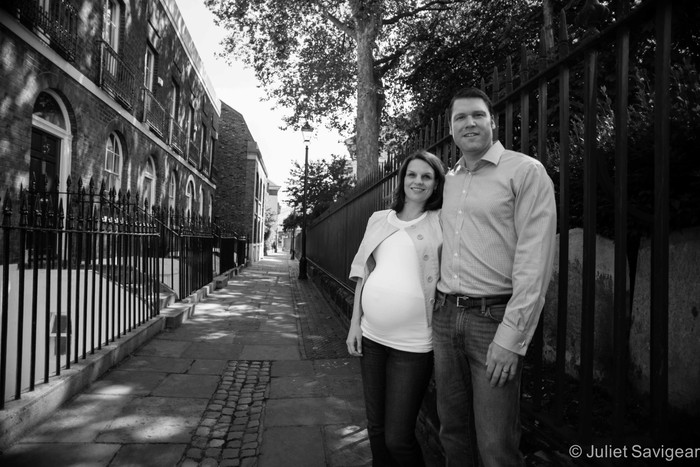 Maternity Photo Shoot - Greenwich, London, SE10