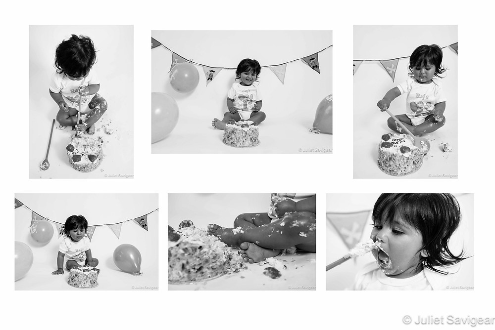 Cake Smash - Children's Photography, North Harrow