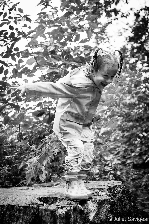 Rain! Children's Photography, Chiswick