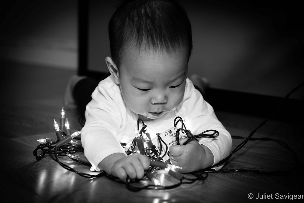 Fairy Light Baby - Baby Photography - Parsons Green