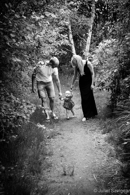 Woodland Pathway - Family & Baby Photography - Wimbledon