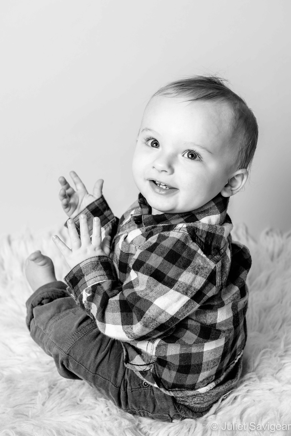 Clapping - Baby Photography - Ealing
