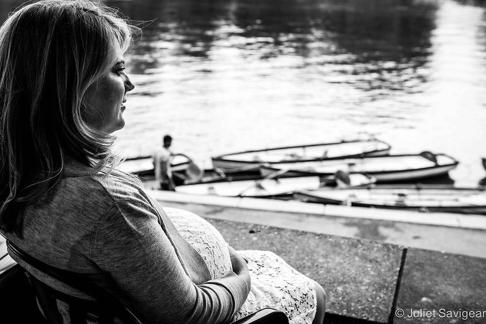 River Life - Maternity Photography, Richmond