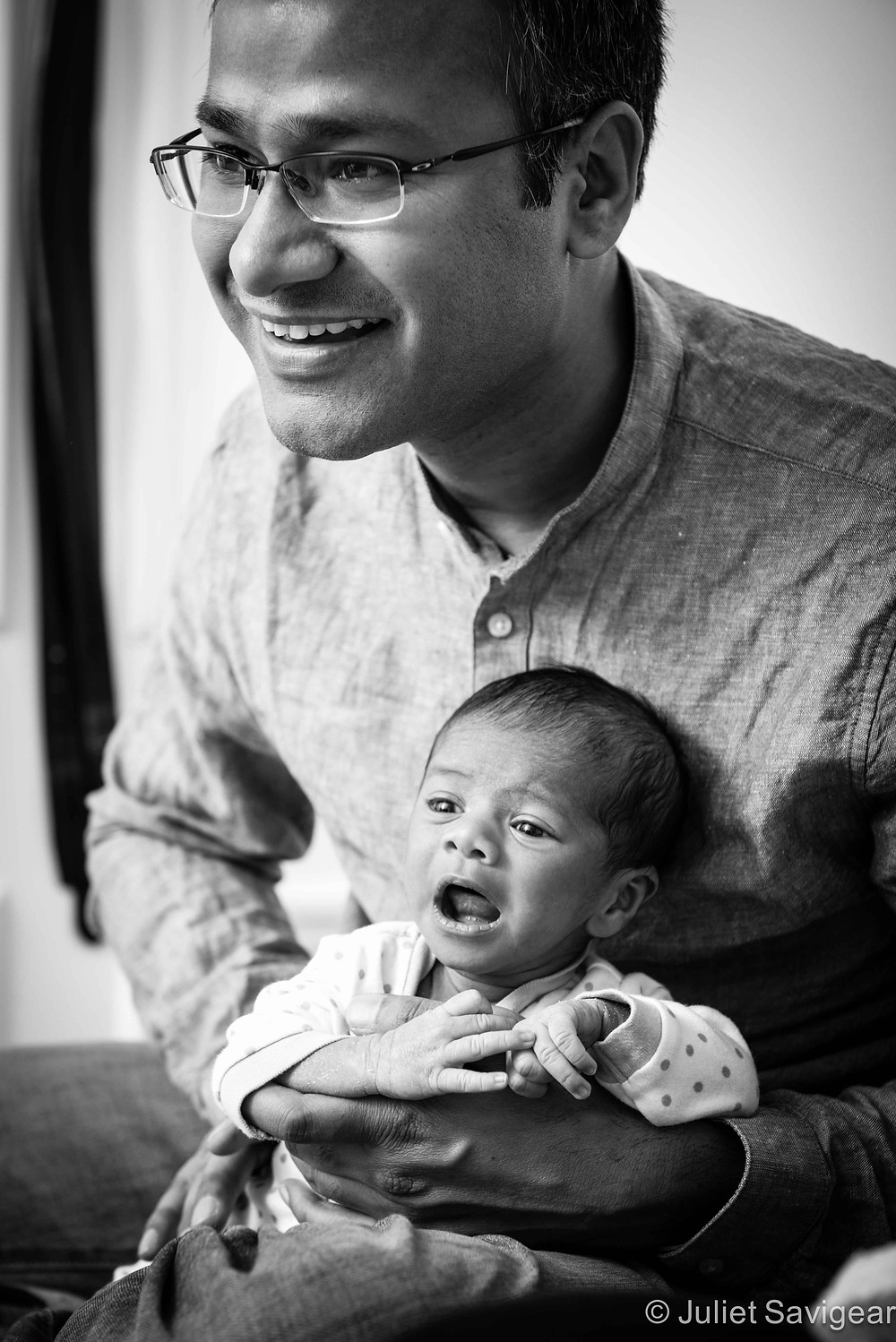 Daddy's Boy - Newborn Baby & Family Photography, Wimbledon
