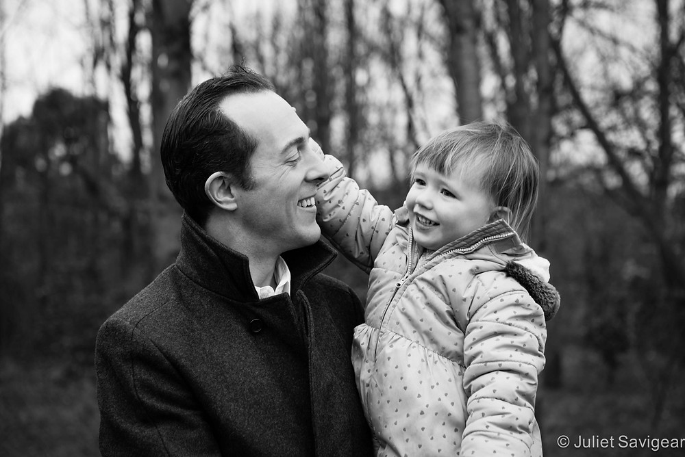 Daddy & His Girl - Children's & Family Photography, Tooting Common