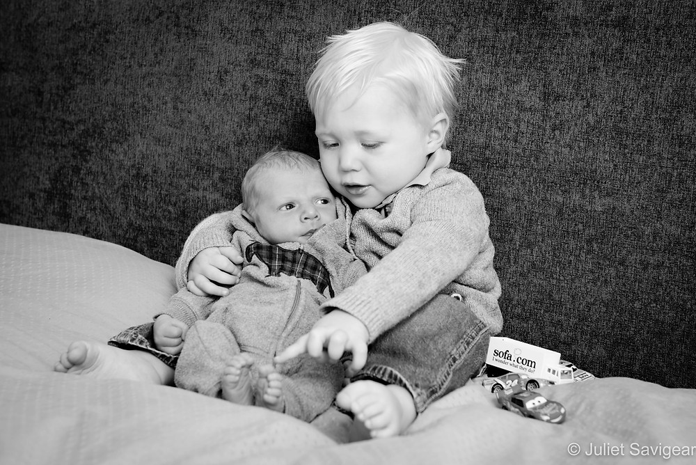 Toddler & baby brother