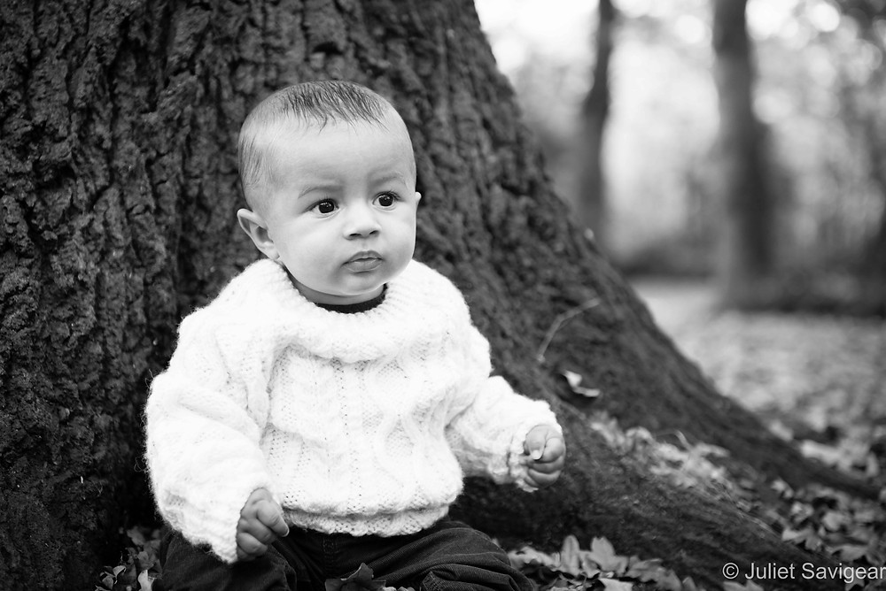 In The Woods - Baby Photography - Streatham Common