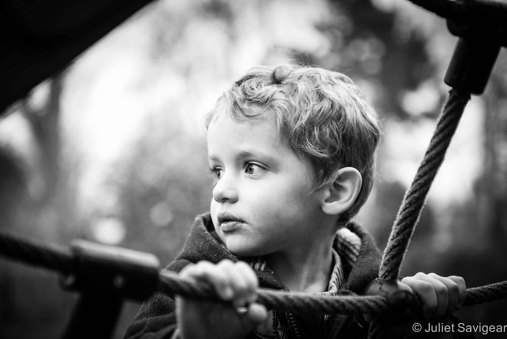 On The Ropes - Children's Photography, Chiswick