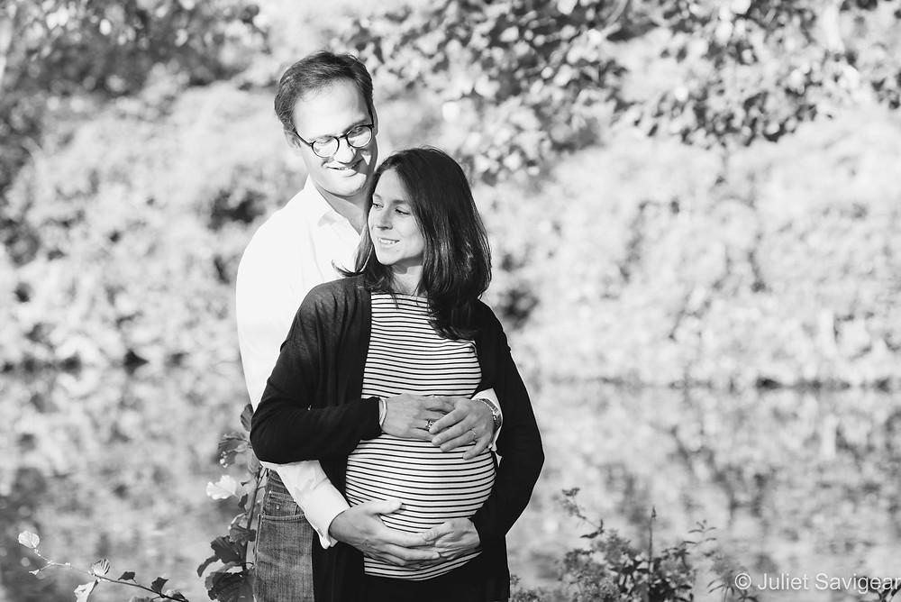 Maternity photography in the autumn sunshine