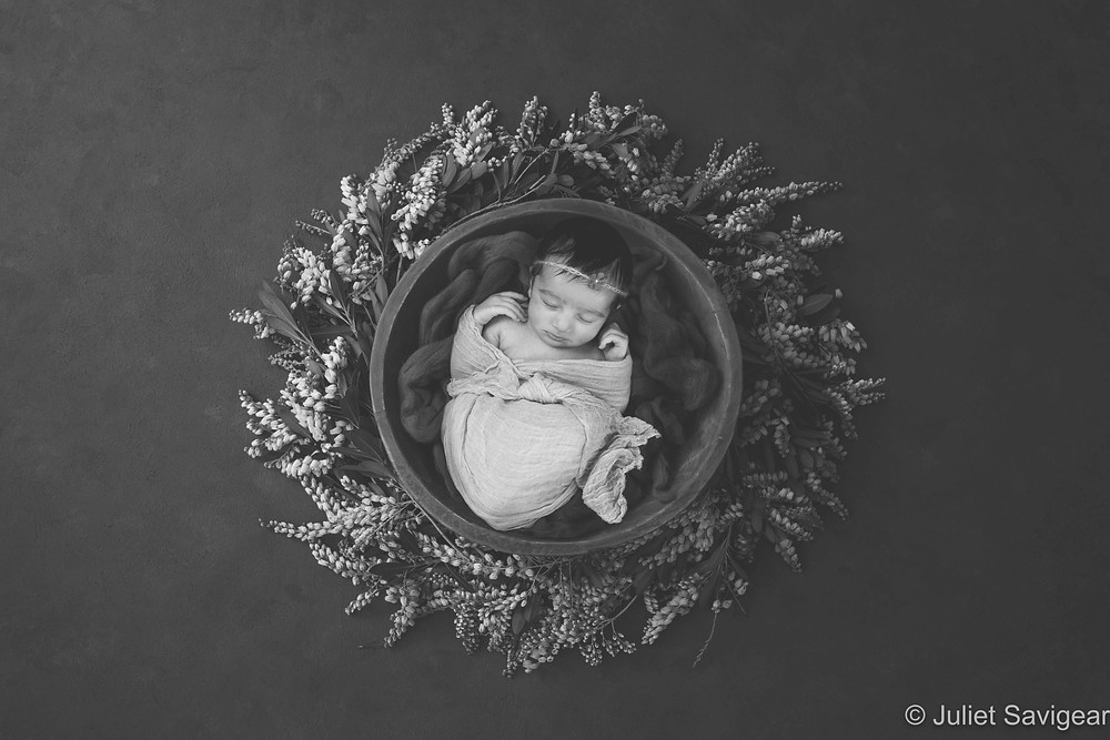Stunning newborn baby photography