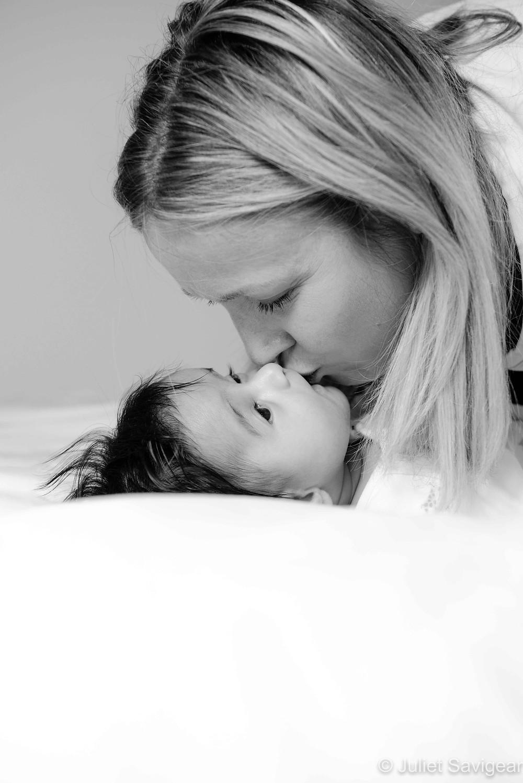 Mamma's kiss